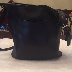 Coach Leather Shoulderbag